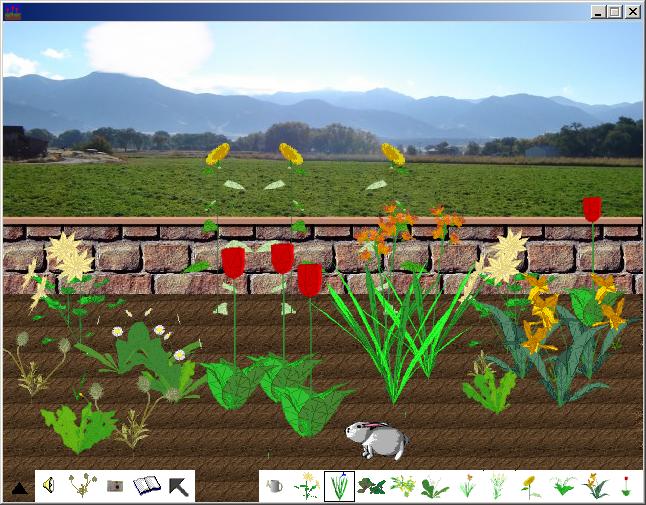 Screen shot of FlowerThinger